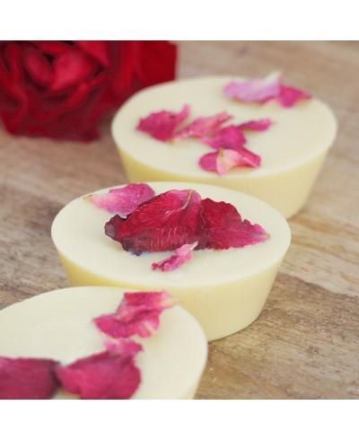 Ružová alej - masážna kocka