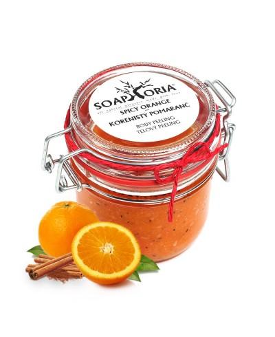 Korenistý pomaranč peeling