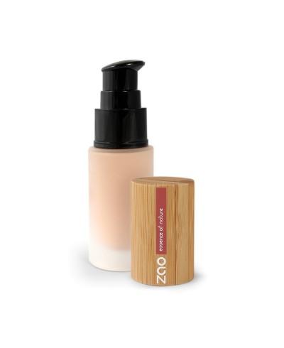 Hodvábny tekutý make-up 701 Ivory