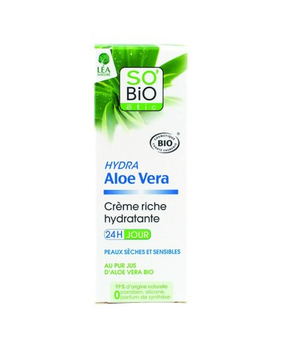 Denný 24h extra hydratačný krém s Aloe vera